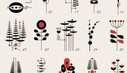 Minimal Line Drawings By TRÜF studio