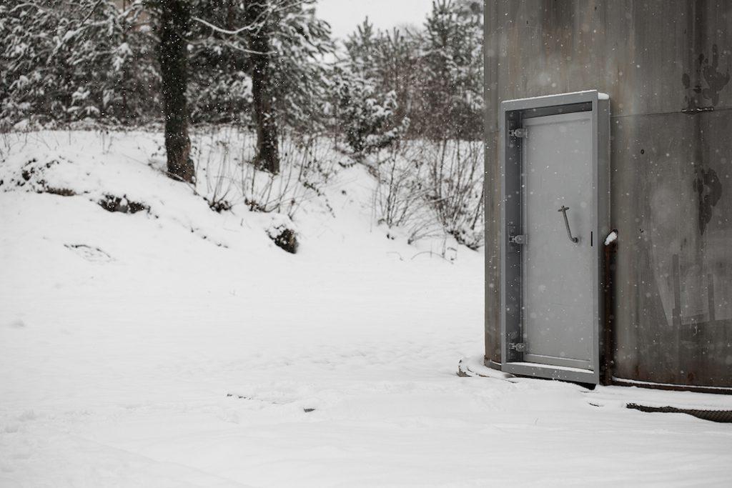 Swiss studio Zimoun creates kinetic installations