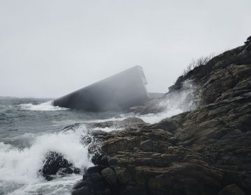 Precarious Restaurant On The Shore By Snøhetta