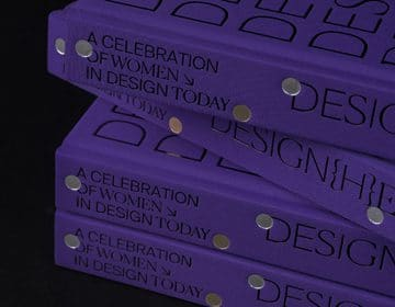 Design{h}ers champions a range of female creatives all in one book
