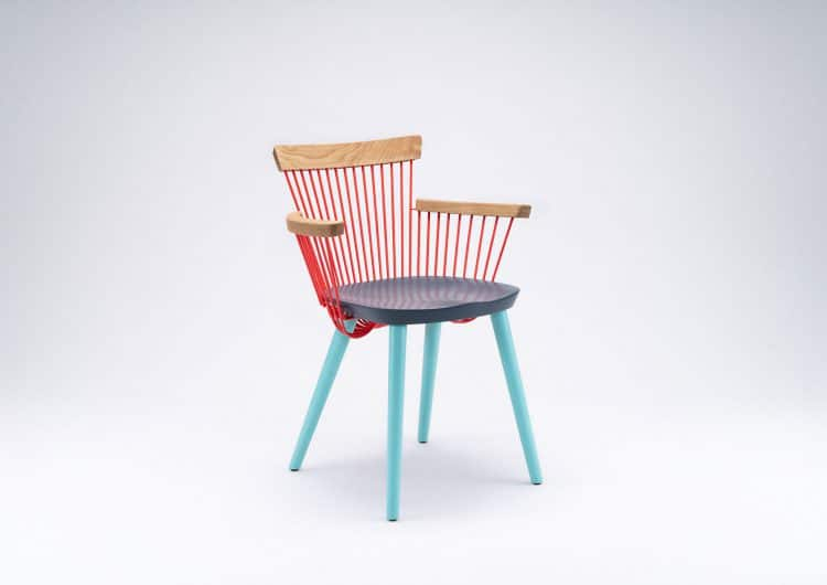 The WW Armchair – Colour Series by HAYCHE and Studio Makgill
