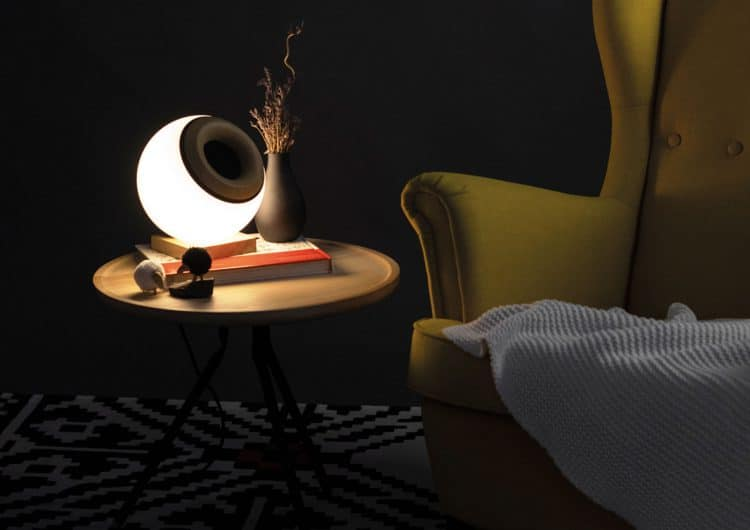 A Speaker And A Smart Lamp In One Design By Oupio