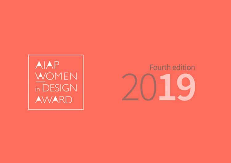 Call for Entries Aiap Women in Design Award 2019