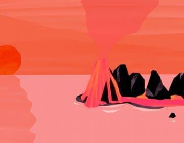 Anna Katalin Lovrity takes us to a volcano island