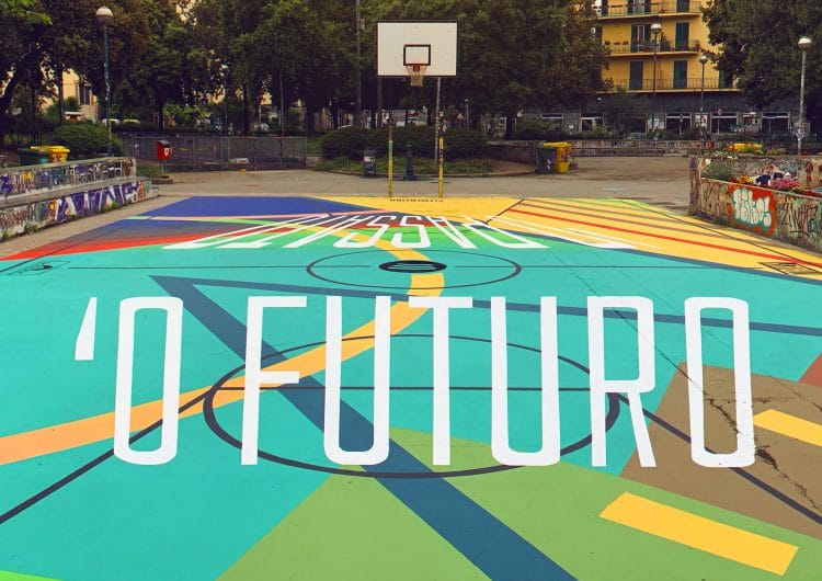 Truly Design creates an anamorphic Basketball court
