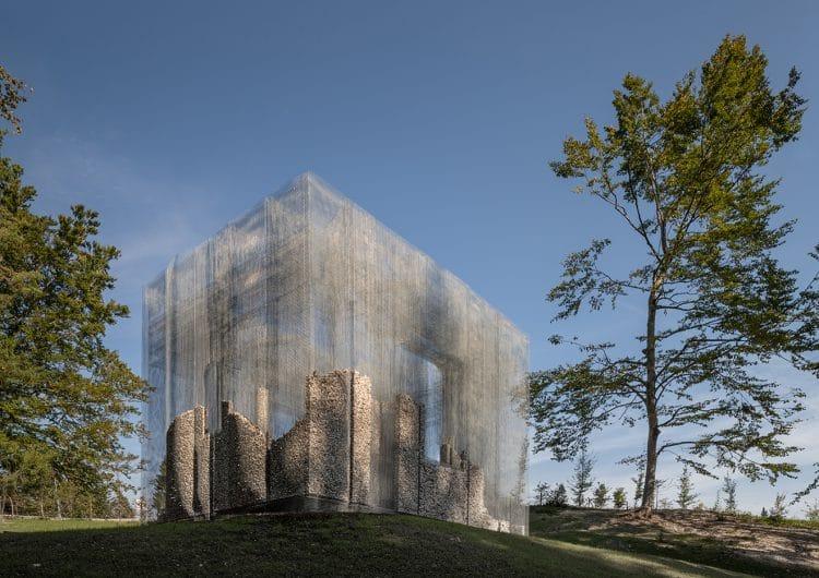 Edoardo Tresoldi's installation for Arte Sella