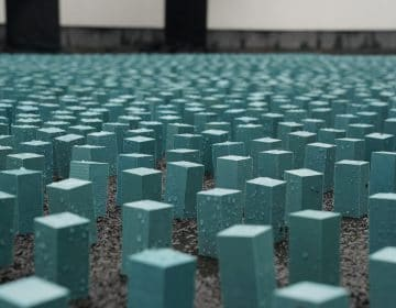 Studio Drift Turned Plastic Bag Into Blocks for Dutch Design Week
