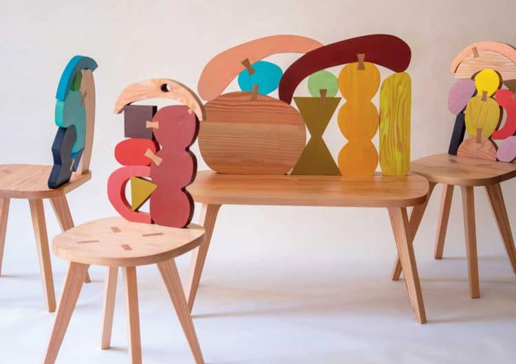 Donna Wilson's playful mind creates a new furniture line