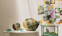 Beautiful Moldy Over-sized Fruit Sculptures By Kathleen Ryan