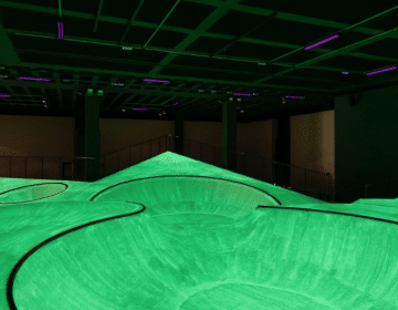 OooOoO, The Fluorescent Skatepark By Koo Jeong A