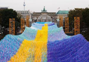 Poetic Kinetics: 30 Years Of The Fall Of The Berlin Wall With Art Installation