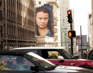 Huge Greta Thunberg's Mural in San Francisco