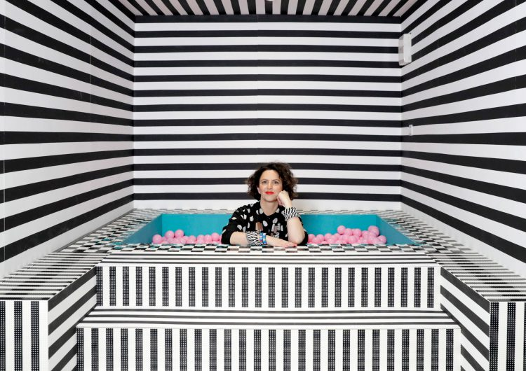 Lego invited the queen of pattern Camille Walala to launch the new Lego Dots line