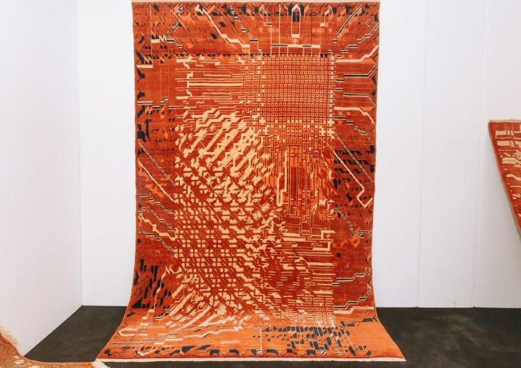 Rugture: a generative reinterpretation of classic nomad rug